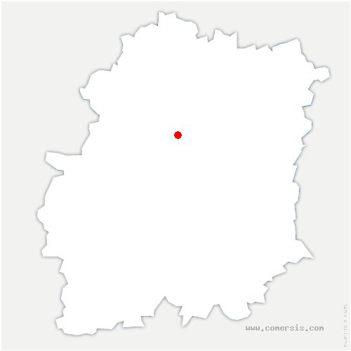 carte de localisation de Arpajon