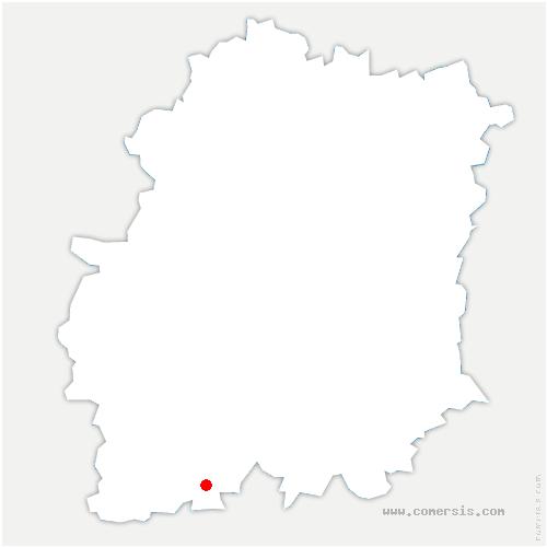 carte de localisation de Arrancourt