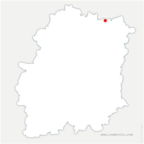 carte de localisation de Athis-Mons