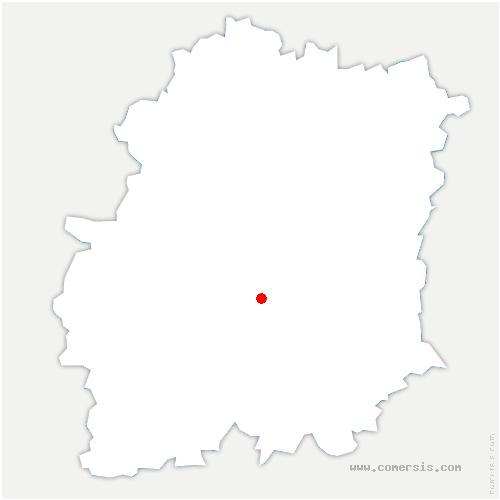 carte de localisation de Auvers-Saint-Georges