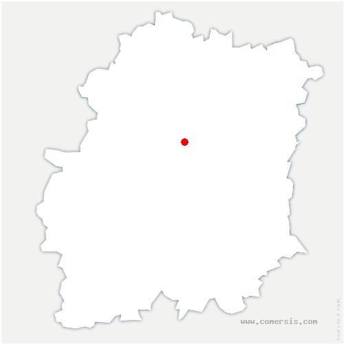 carte de localisation de Avrainville
