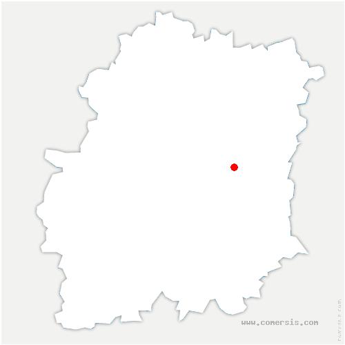 carte de localisation de Ballancourt-sur-Essonne