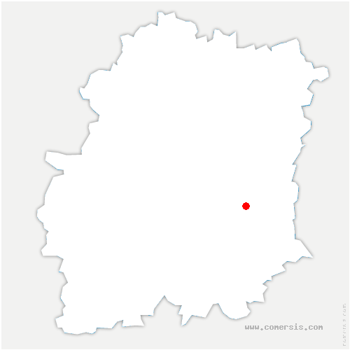 carte de localisation de Baulne