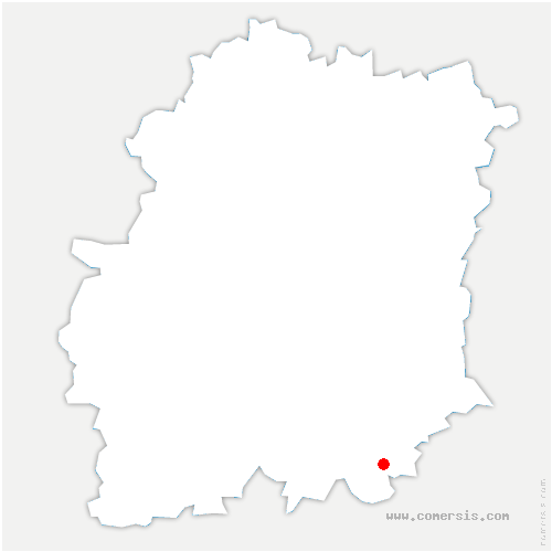 carte de localisation de Boigneville