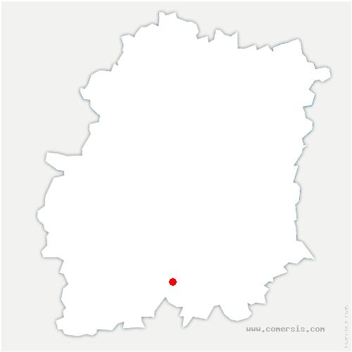 carte de localisation de Bois-Herpin
