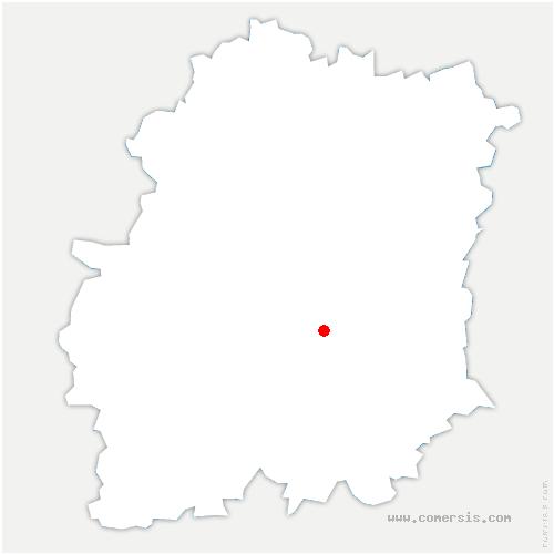 carte de localisation de Boissy-le-Cutté