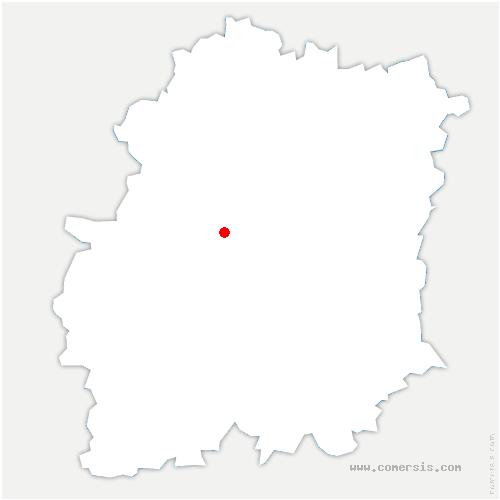 carte de localisation de Boissy-sous-Saint-Yon