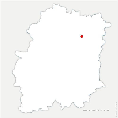 carte de localisation de Bondoufle