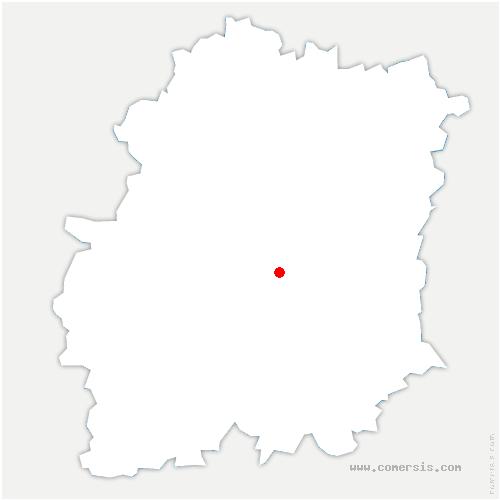 carte de localisation de Bouray-sur-Juine