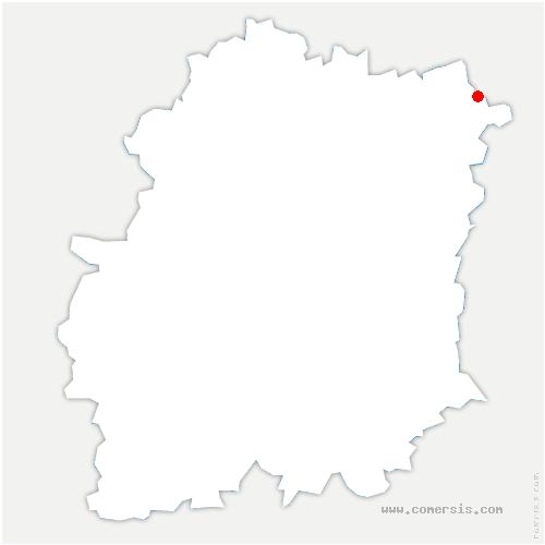 carte de localisation de Boussy-Saint-Antoine