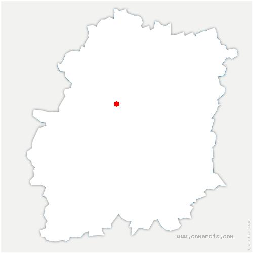 carte de localisation de Breuillet
