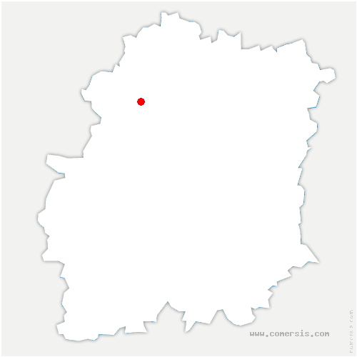 carte de localisation de Briis-sous-Forges