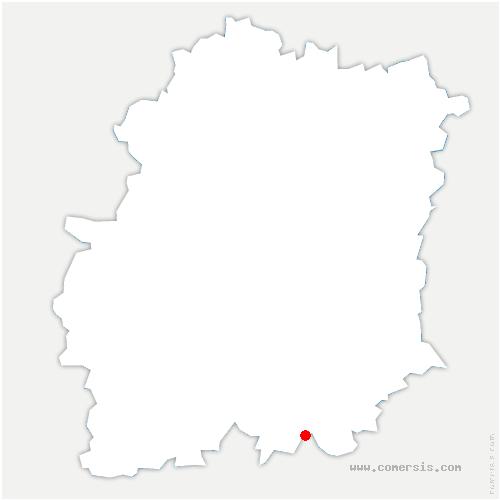 carte de localisation de Brouy