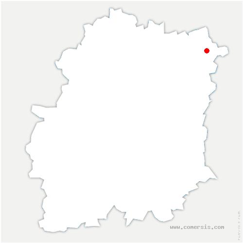 carte de localisation de Brunoy