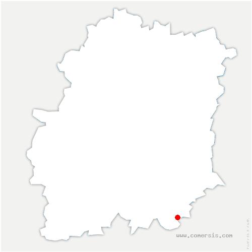carte de localisation de Buno-Bonnevaux