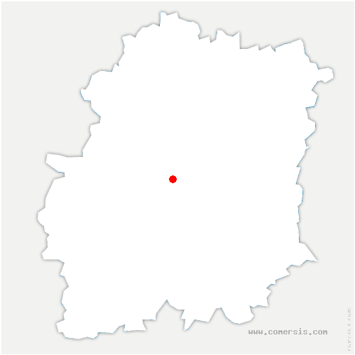 carte de localisation de Chamarande