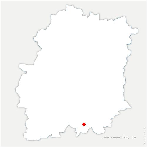 carte de localisation de Champmotteux