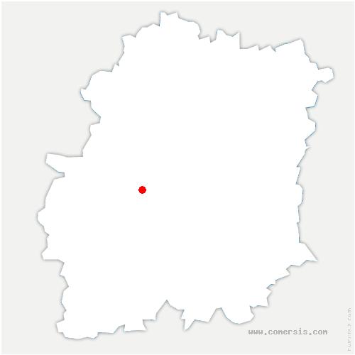 carte de localisation de Chauffour-lès-Étréchy