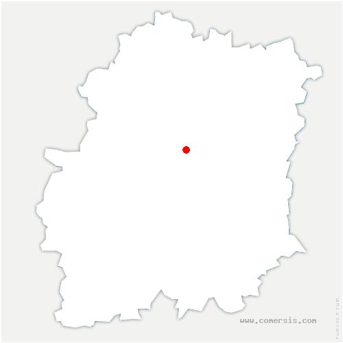 carte de localisation de Cheptainville