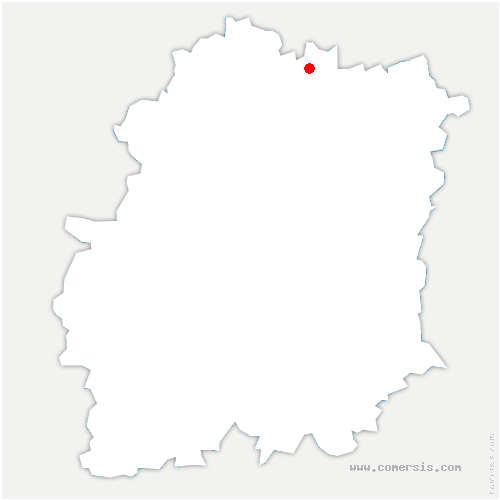 carte de localisation de Chilly-Mazarin