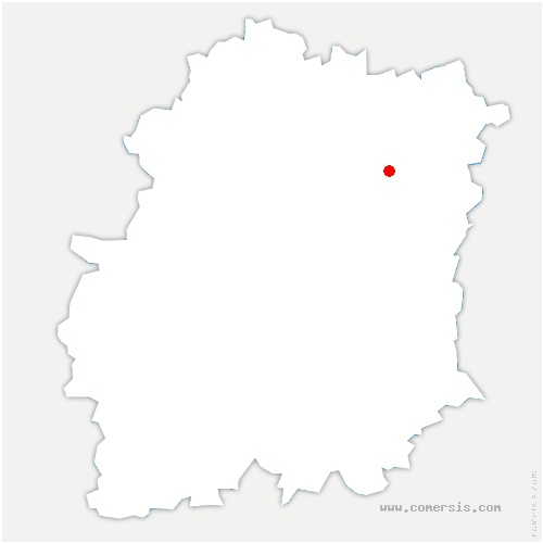 carte de localisation de Courcouronnes