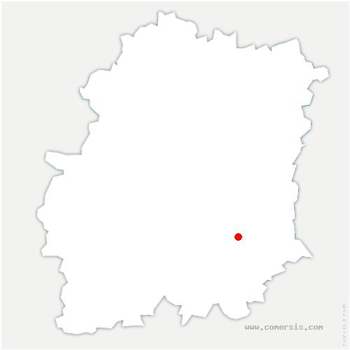 carte de localisation de Courdimanche-sur-Essonne