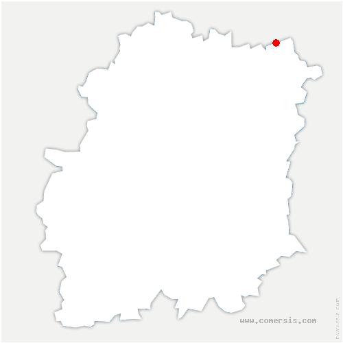 carte de localisation de Crosne