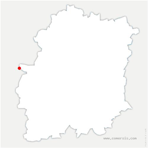 carte de localisation de Dourdan