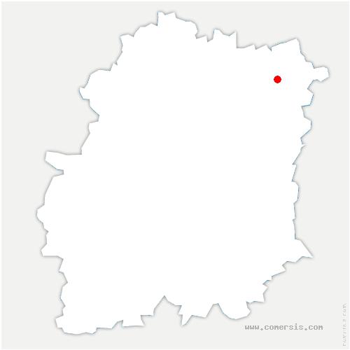 carte de localisation de Draveil