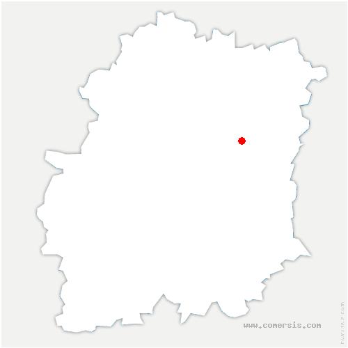 carte de localisation de Écharcon