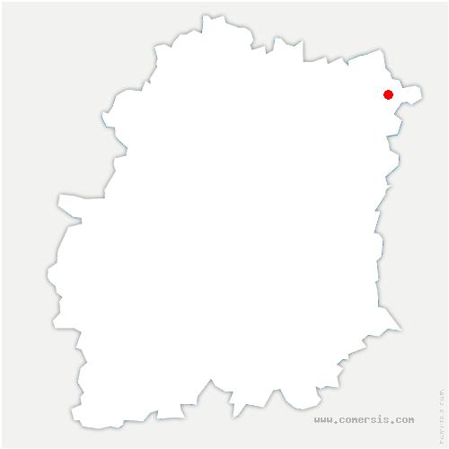 carte de localisation de Épinay-sous-Sénart