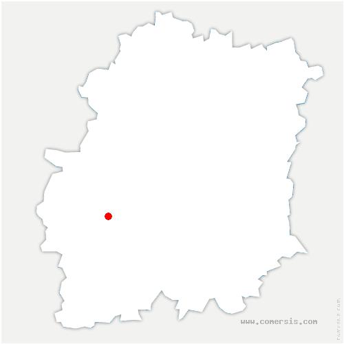 carte de localisation de Étampes