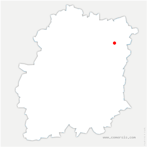 carte de localisation de Étiolles
