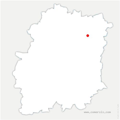carte de localisation de Évry-Courcouronnes