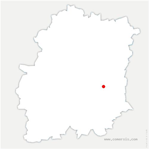 carte de localisation de Ferté-Alais