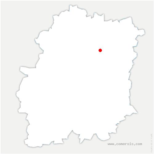 carte de localisation de Fleury-Mérogis