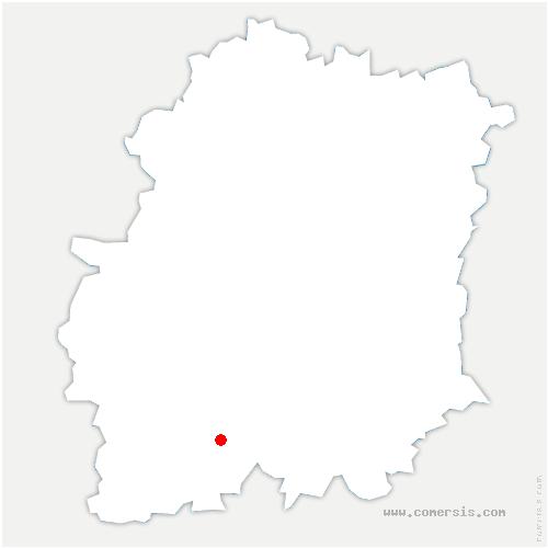 carte de localisation de Fontaine-la-Rivière