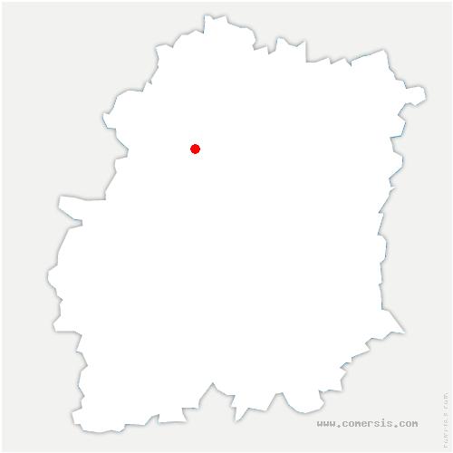 carte de localisation de Fontenay-lès-Briis