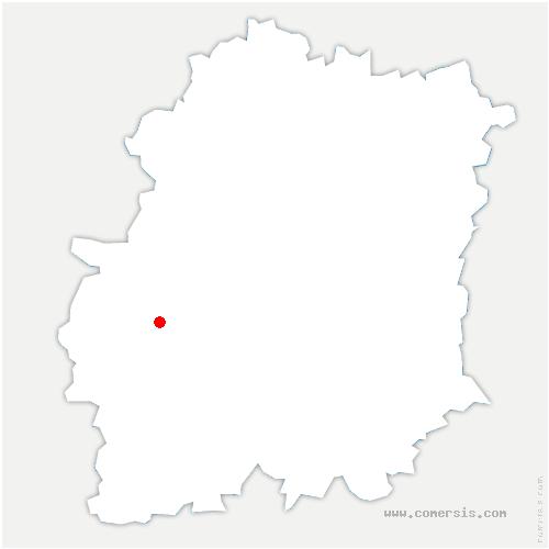 carte de localisation de Forêt-le-Roi