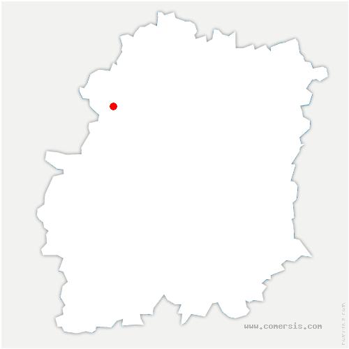 carte de localisation de Forges-les-Bains
