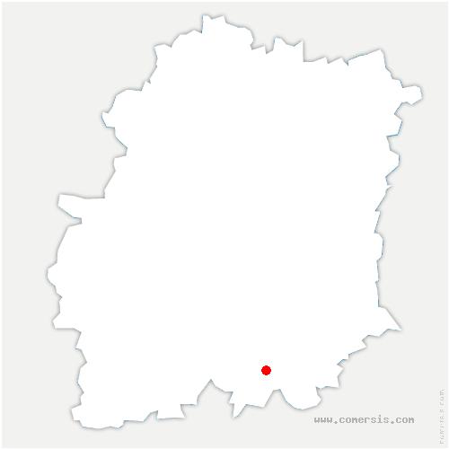 carte de localisation de Gironville-sur-Essonne