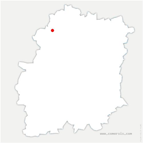 carte de localisation de Gometz-la-Ville