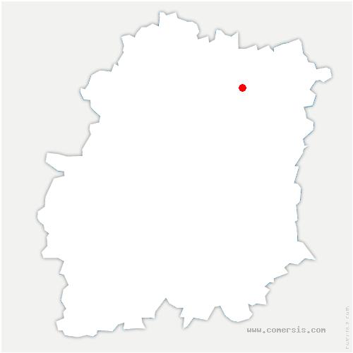 carte de localisation de Grigny