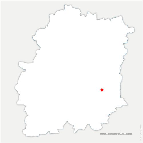 carte de localisation de Guigneville-sur-Essonne