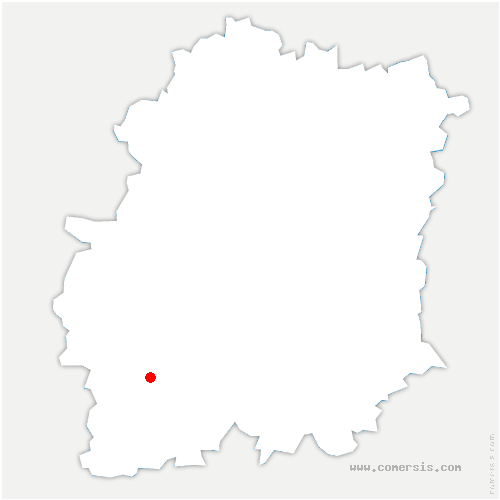 carte de localisation de Guillerval