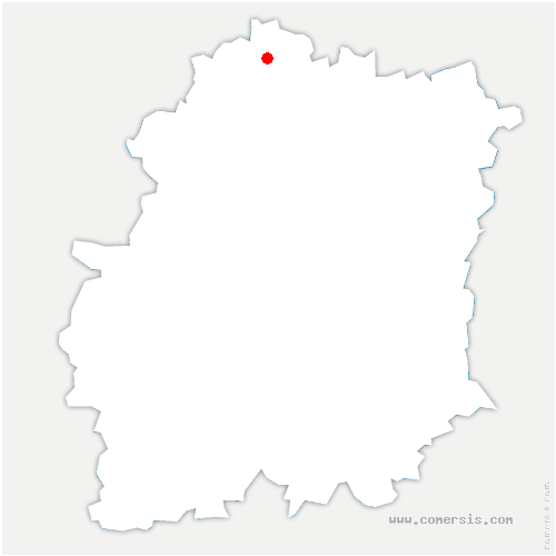 carte de localisation de Igny
