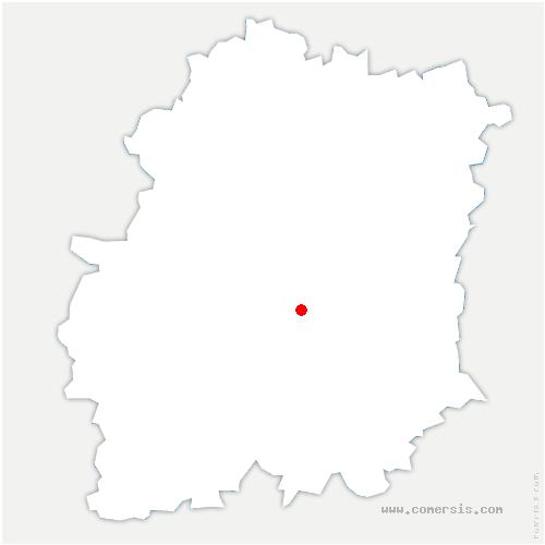 carte de localisation de Janville-sur-Juine