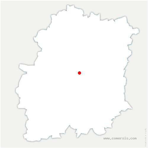 carte de localisation de Lardy