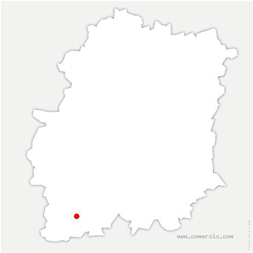 carte de localisation de Le Mérévillois