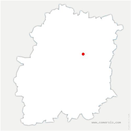 carte de localisation de Leudeville
